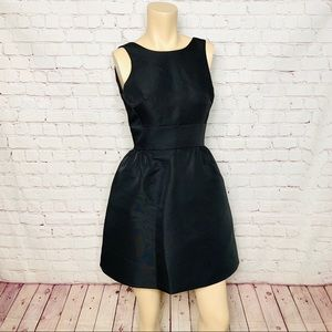 KATE SPADE Black Formal Party Mini Dress LBD 4